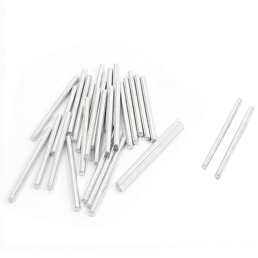 50 Pcs Rc Helicopter Model Part Stainless Steel Round Rods