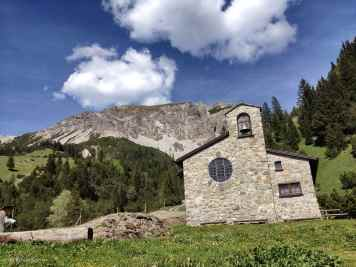 Sweet church in the mountains