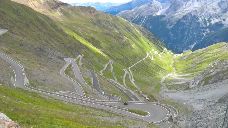 stelvio pass self guided motorcycle tours italy