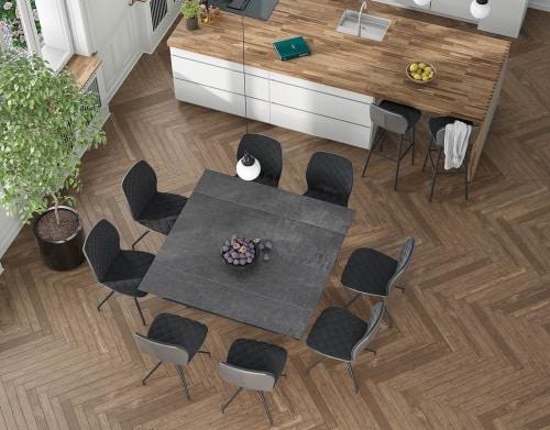 table largo ceramique extensible carre