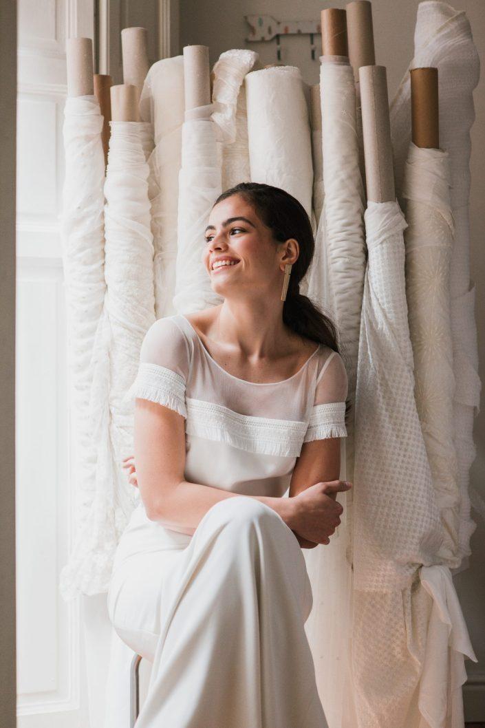 Fotógrafos de bodas en Asturias, vestido otaduy, m2visualstudio