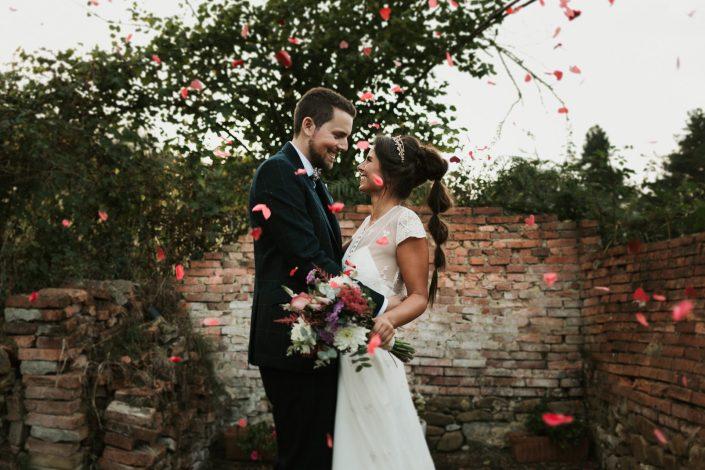 Fotógrafos de bodas en Asturias, palacio de marqués de casa estrada