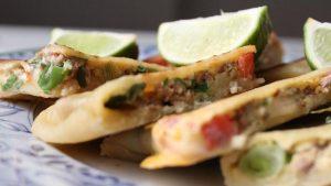 Yemeni food mutabaq sandwich