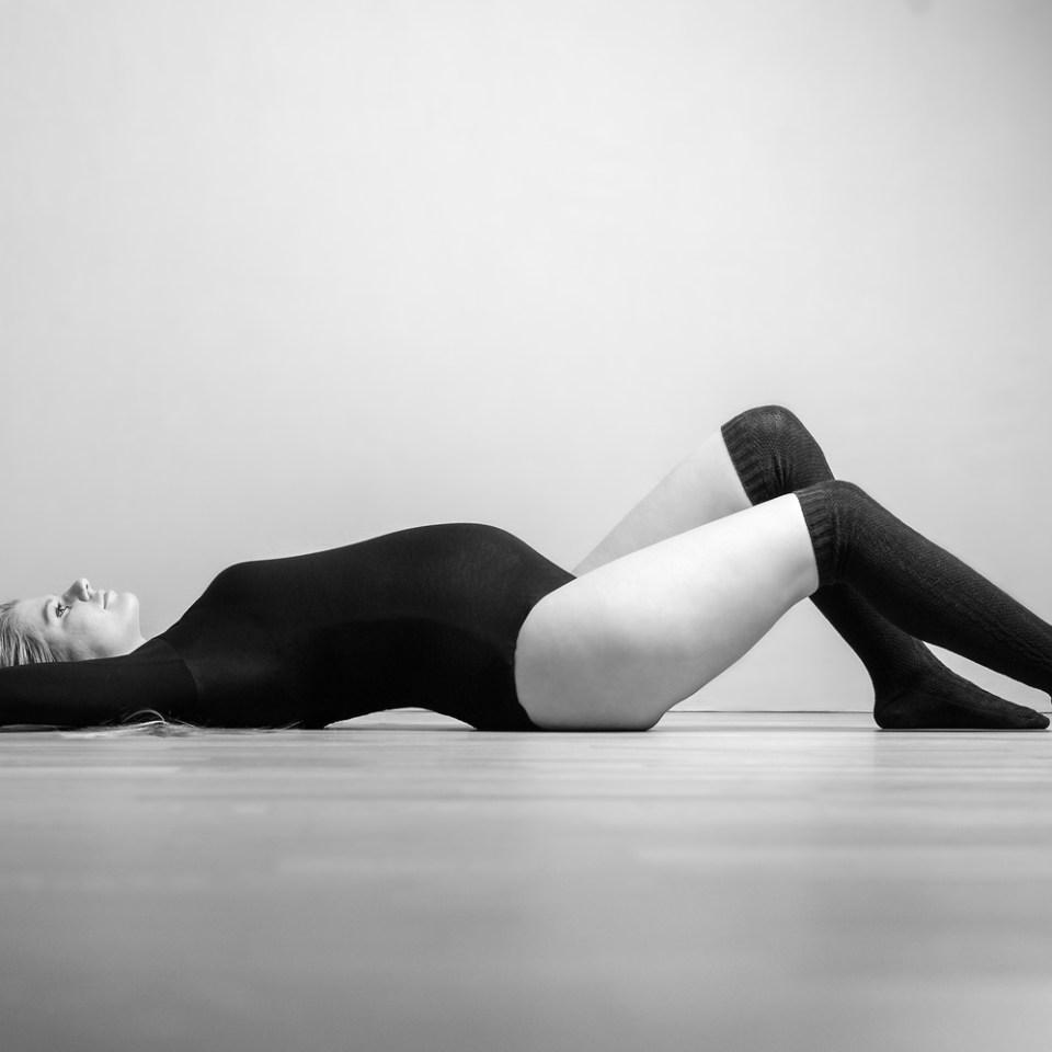pregnant, bnw, floor, overknees
