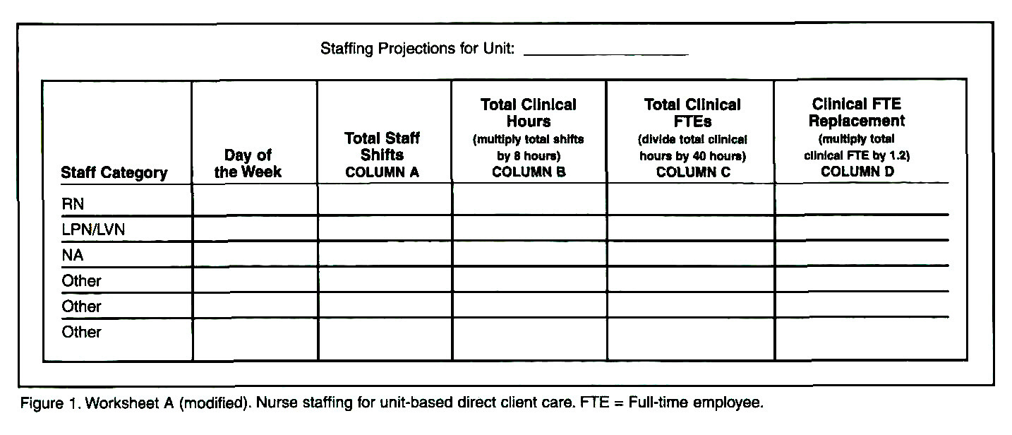 National Training For A New Nurse Staffing Resource