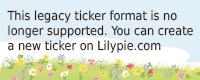 Lilypie 3rd Birthday Ticker