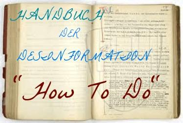 25 Regeln der Desinformation