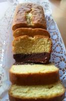 Brownie Sand Kuchen 2 in 1 Kuchen