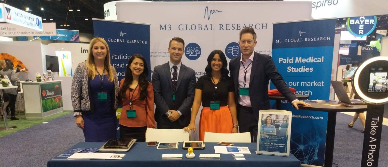 M3 Global Research Attends 2019 ASCO Annual Meeting