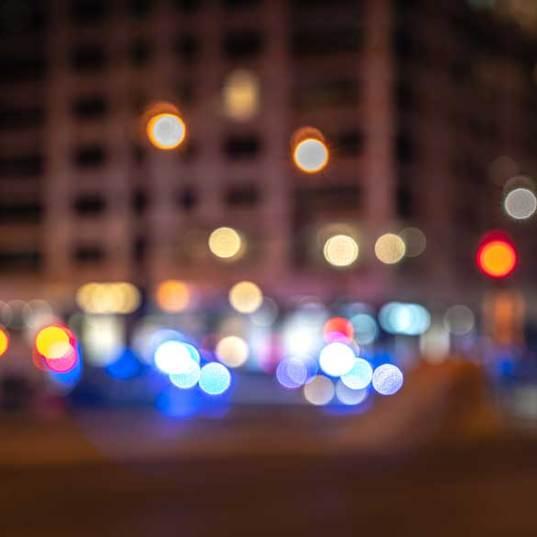 cityscape police response