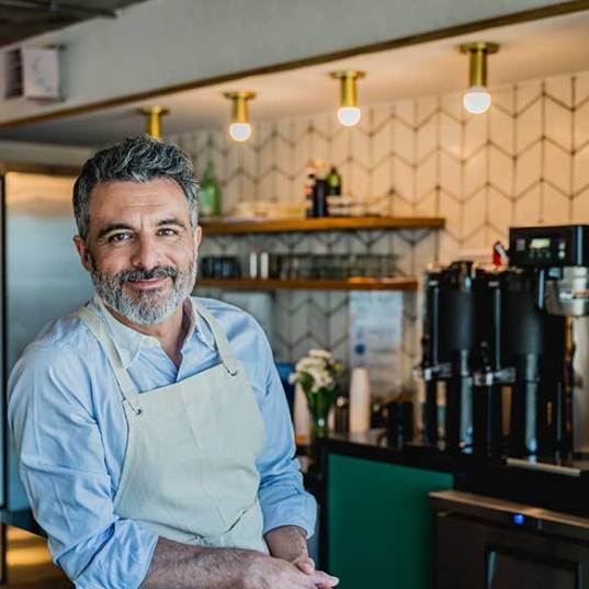 small business owner of a restaurant