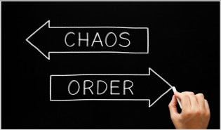 Civil Unrest Control Image Chaos vs. Order
