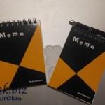 マルマンの「スケッチブック」風A7メモ帳がとてもかわいらしい。B6はサークルKサンクス限定品です。