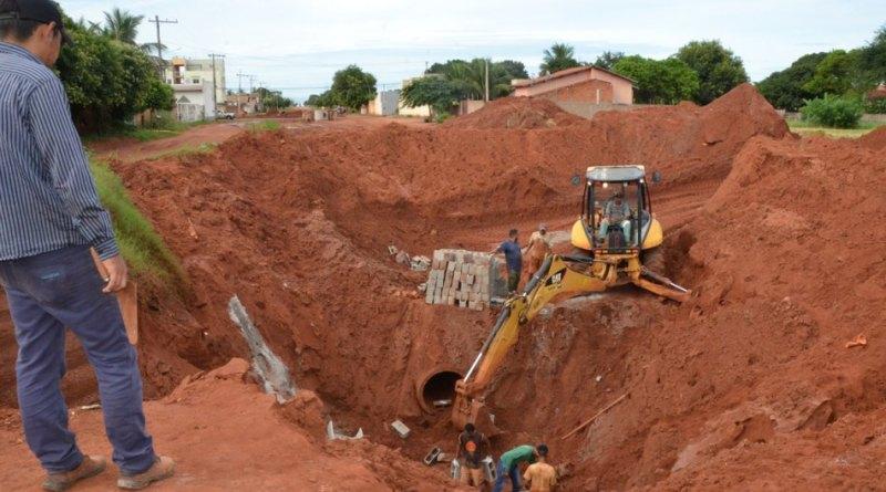 Após prejuízos causados pela chuva em Três Lagoas, obra da Vila Alegre avança e vias são reparadas