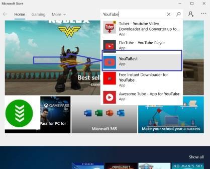 تنزيل اليوتيوب على سطح المكتب بدون تحميل