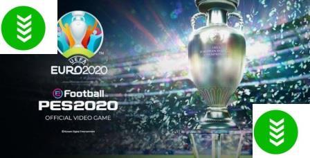 تحميل تحديث لعبة بيس يورو 2020 للكمبيوتر