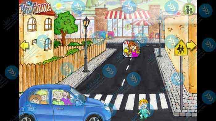 تحميل لعبة 2021 My PlayHome City للاندرويد