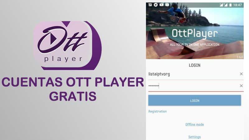cuentas ott player gratis 2018 android iphone pc smart tv tv box premium vip