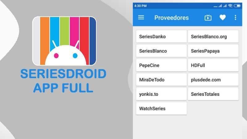 descargar seriesdroid app mod premium vip sin publicidad gratis android ios pc