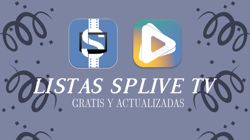 descargar listas splive tv player iptv m3u gratis