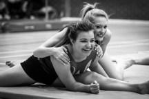 Black & White Gymnastics Photograph.