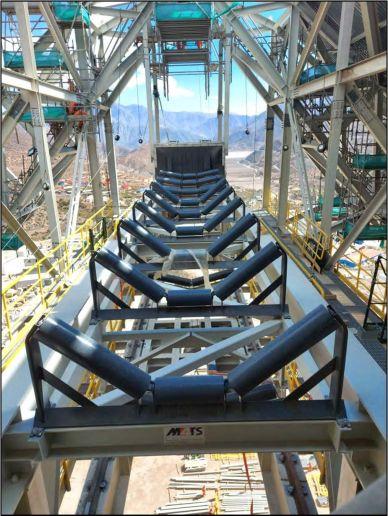 Belt Conveyor - Inco , Bechtel - Pelambres
