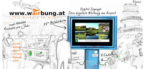 wAIRbung.at – Werbung am Airport | Werbung am Flughafen Linz