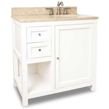 bathroom vanities with right side sinks