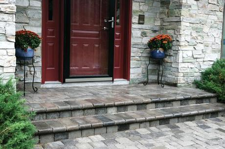 Front Entry Paver Ideas Paperblog