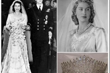 queen elizabeth ii wedding dress » [HD Images] Wallpaper For ...
