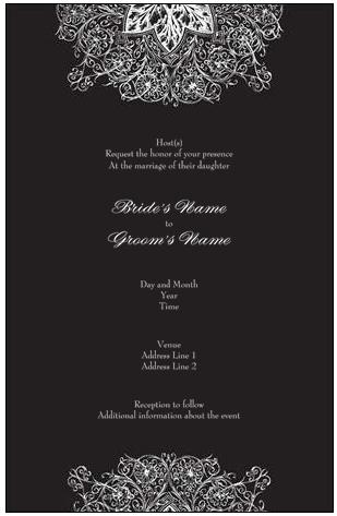 Vistaprint Wedding Invitation Vista Print