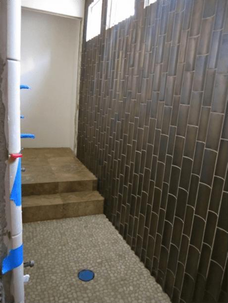 A Master Bath Renovation Tile Installation Paperblog