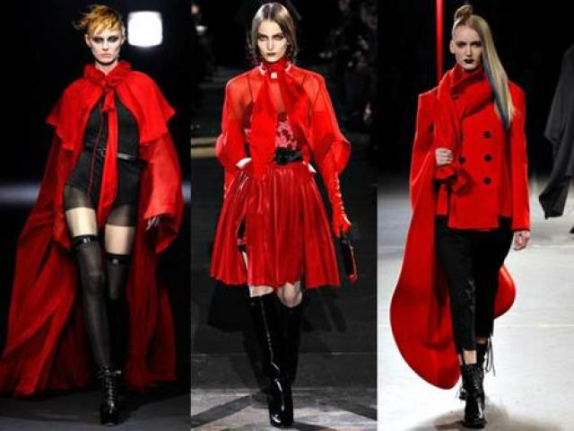 Fall Winter 2012 Trends - RED