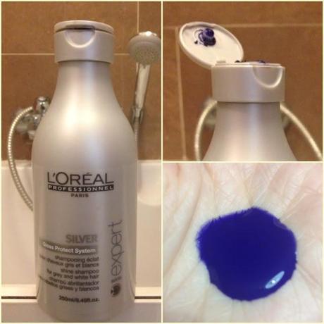 purple shampoo l oréal professionnel série expert silver shampoo paperblog