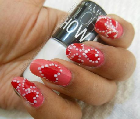 Very Easy Valentines Day Nail Art Tutorials 2016