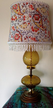 lamp with new shade