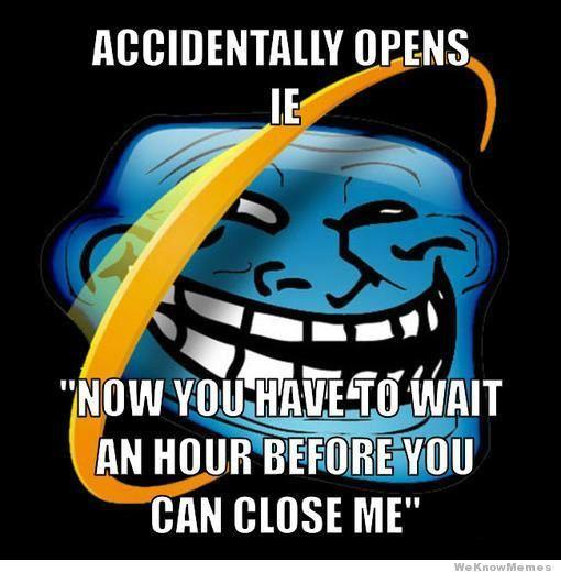 Internet Explorer Memes Viralizeit