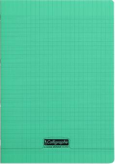 calligraphe cahier 8000 polypro 210 x 297 mm vert
