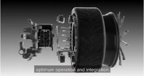 「Ring-Drive」を装着することで、どんな車もEV車に変身!2WD車が4WDに…