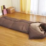 「寝袋」を布団代わりに使ってみた!とっても良い事が満載…