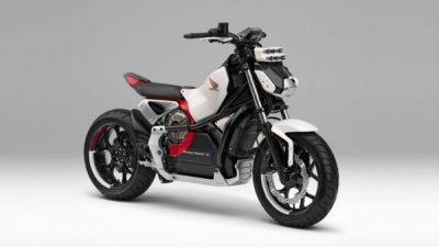 コンセプト・バイク「Honda Riding Assist-e」は「ASIMO」のバランス制御技術を投入!倒れないバイクに?