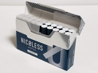 「NICOLESS」で吸っているのに禁煙できる?新しい禁煙習慣が