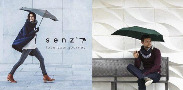 「Senz ゚Micro」という名の折りたたみ傘は、時速70km/hの強風にも負けません!