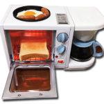 「3wayモーニングセットメニュー」で仕度の合間に朝食の準備!