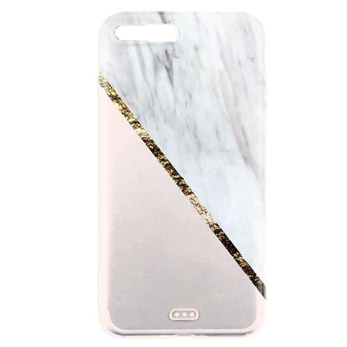 marbre vogue coque iphone 7 plus coque telephone marbree anti chocs