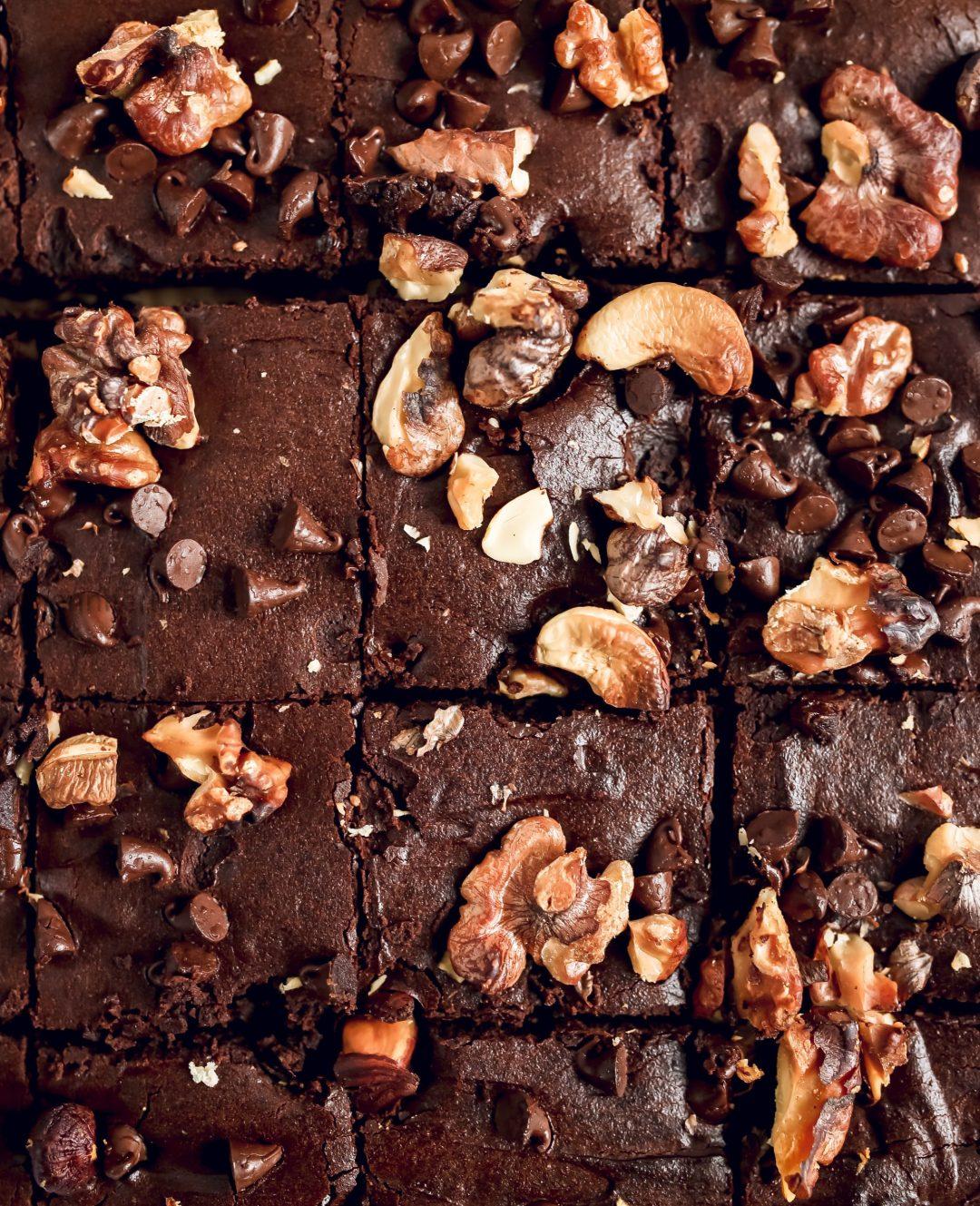 Brownie sans gluten au Skyr 3