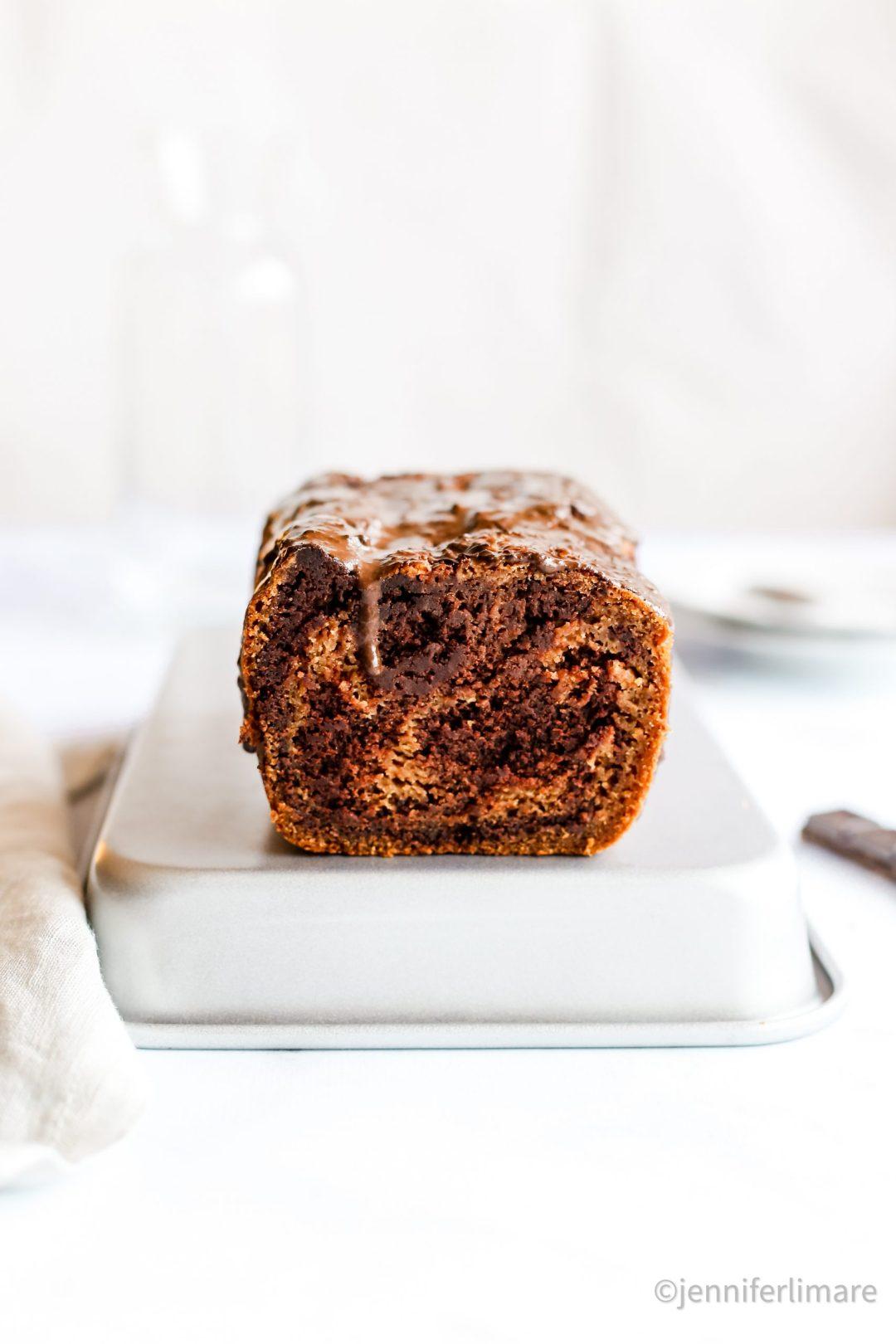 Gâteau marbré sans gluten sans oeufs sans lait et terriblement moelleux 1