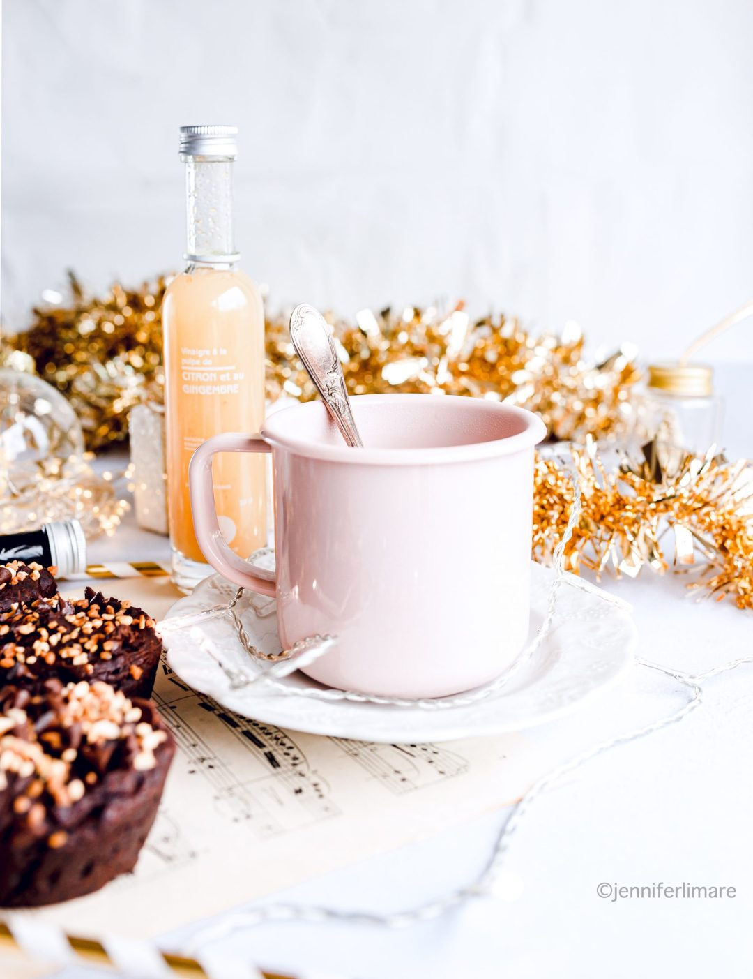 Muffins au chocolat sans gluten et vegan 5