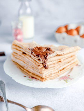 crêpes moelleuses sans gluten et sans lactose 1