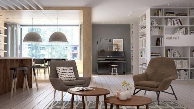 Un Interieur Au Style Scandinave Cela Vous Dit Ma Deco Maisons